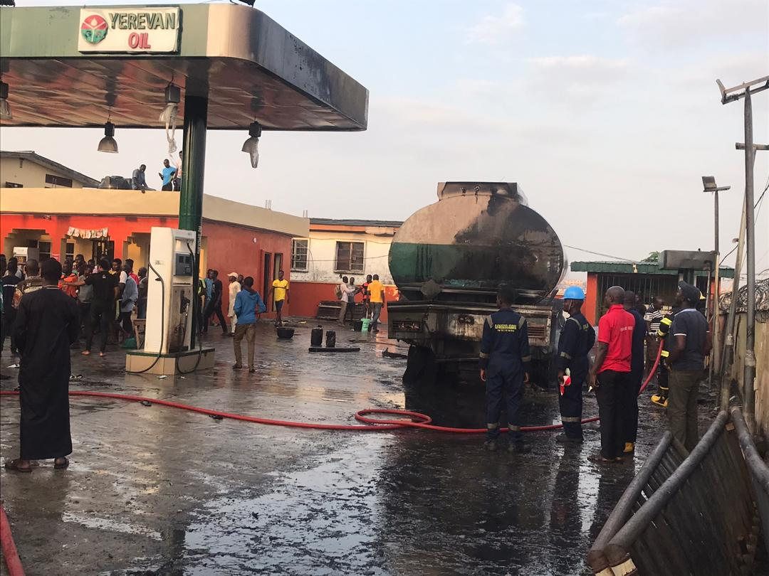 What led to the Ogba tanker explosion- Lagos