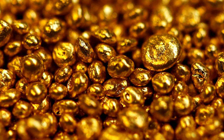 Gold on a grand slam win, gains $40 per ounce