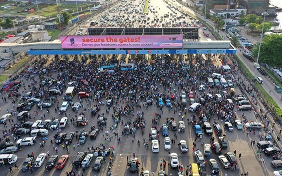 #EndSARS protest: Lagos loses N234million to tollgates closure, EndSARS protests: British parliament to sanction request against Nigeria on Monday