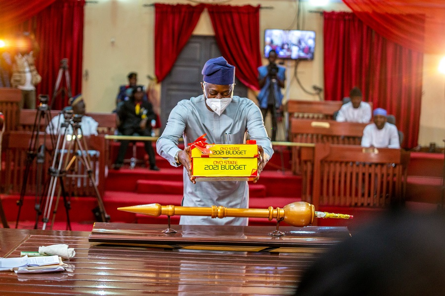 Gov. Makinde presents N266 billion budget to Oyo State House of Assembly