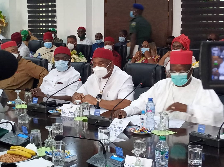 Southeast governors, leaders meet with Presidential delegation to discuss region