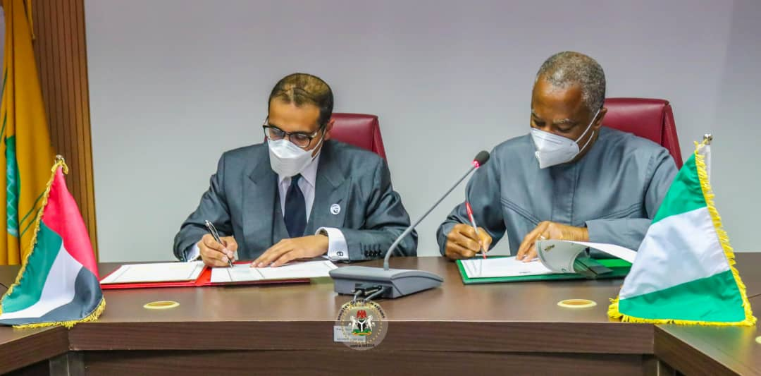 Nigeria signs MoU with United Arab Emirates