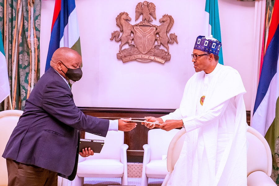 Increased collaboration between Nigeria and South Africa will strengthen African development - Buhari