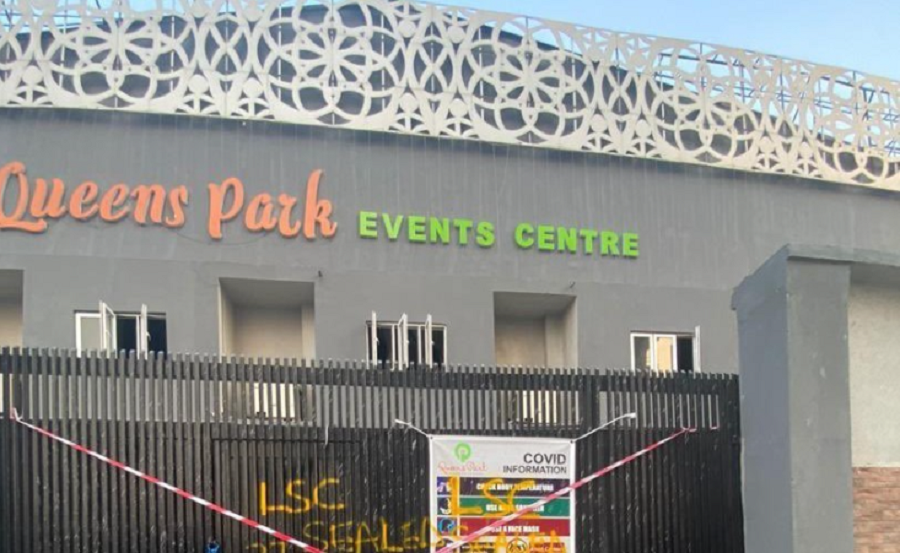 Lagos Govt seals Queens Park Event Centre, Oniru for contravening COVID-19 protocol