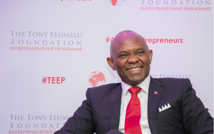 How rich is Tony Elumelu and how does he make money?