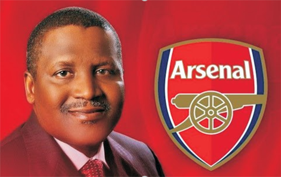 Super League Fall Out: Twitter Users Urge African Billionaire, Dangote to take over Arsenal