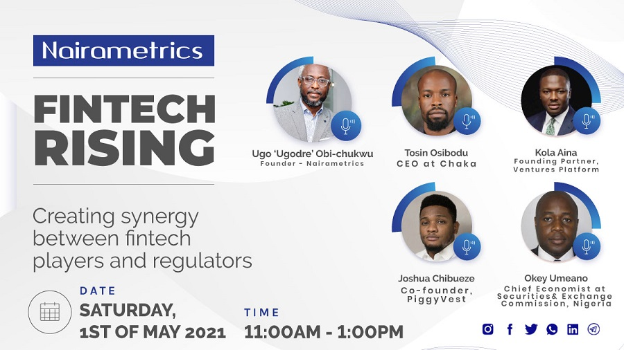 Nairametrics to host fintech webinar on synergy between players and regulators